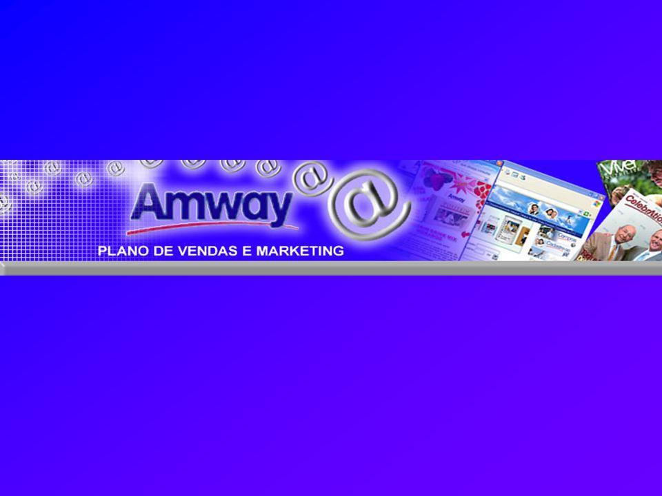 AMWAY Um negócio próprio, bem sucedido, seguro e rentável - Fundada em 1959 por Rich DeVos e Jay Van Andel, atua em mais de 80 países e territórios.
