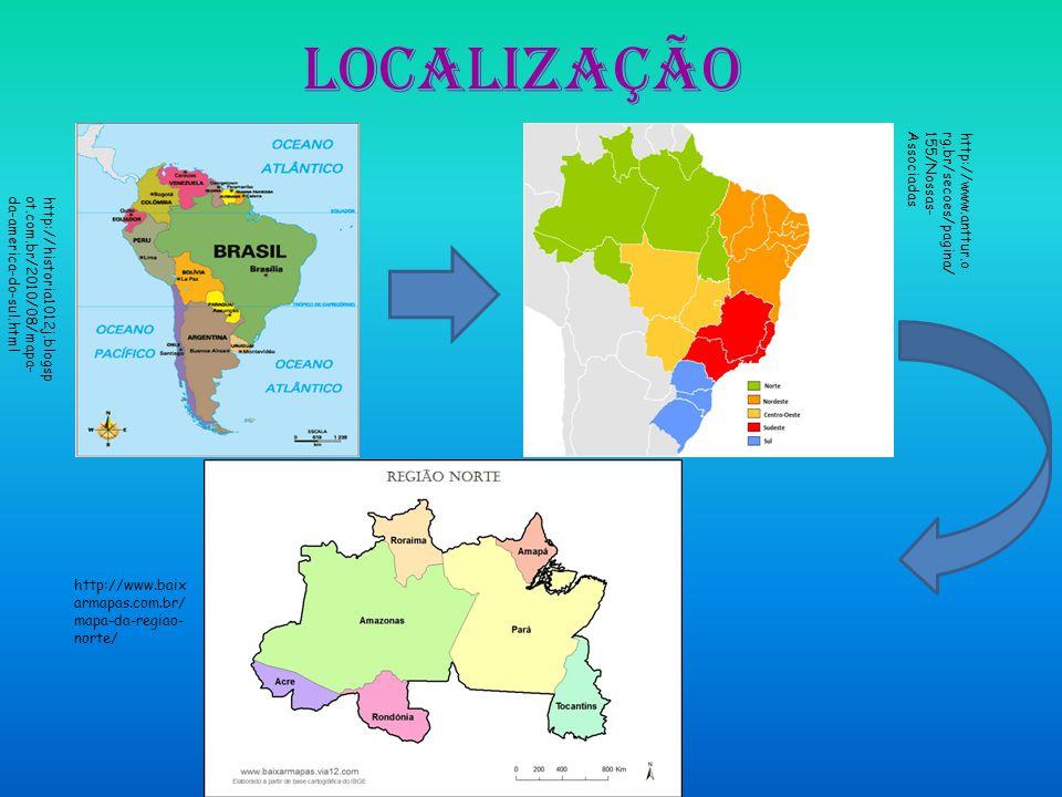 Localização http://historia1012j.blogsp ot.com.br/2010/08/mapa- da-america-do-sul.html http://www.anttur.o rg.br/secoes/pagina/ 155/Nossas- Associadas