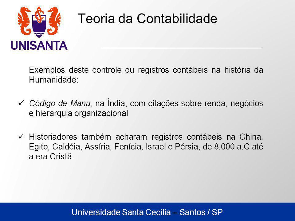 Universidade Santa Cecília – Santos / SP 1.