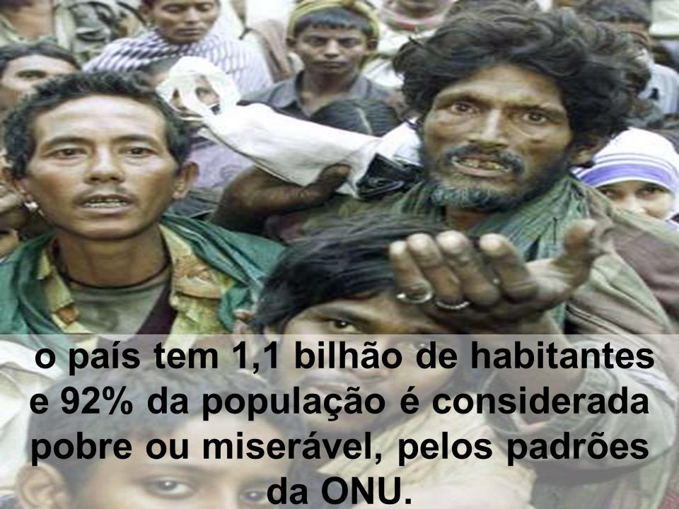 A ONU ENVIOU ENORMES QUANTIAS DE DINHEIRO PARA QUE OS SISTEMAS DE SANEAMENTO DAS CIDADES QUE ESTÃO ÀS MARGENS DO GÂNGES FOSSEM CONSTRUÍDOS,
