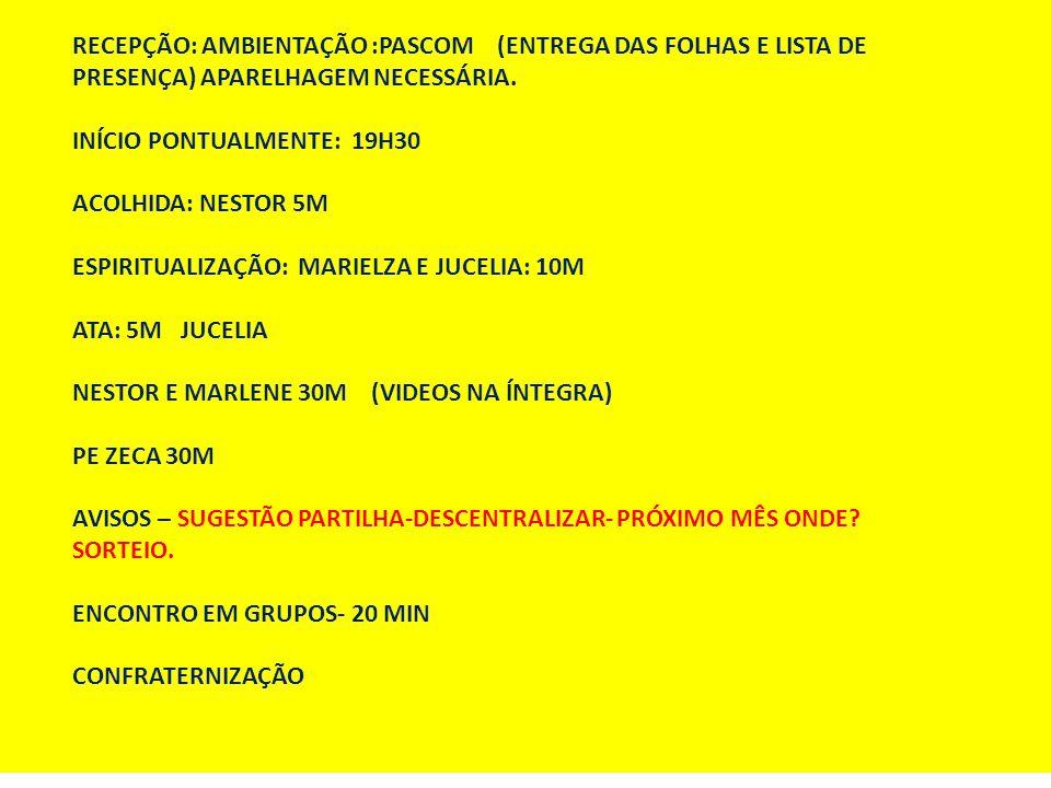 TEMOS O COMPROMISSO DE FAZER COM COMPETÊNCIA AS COISAS DE DEUS.