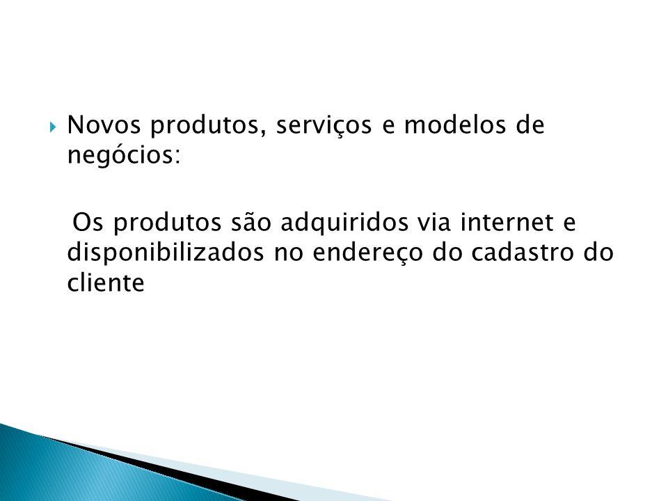 Relacionamento com clientes e fornecedores: Na loja virtual há painel de múltipla escolha para o cliente expor sua preferência.