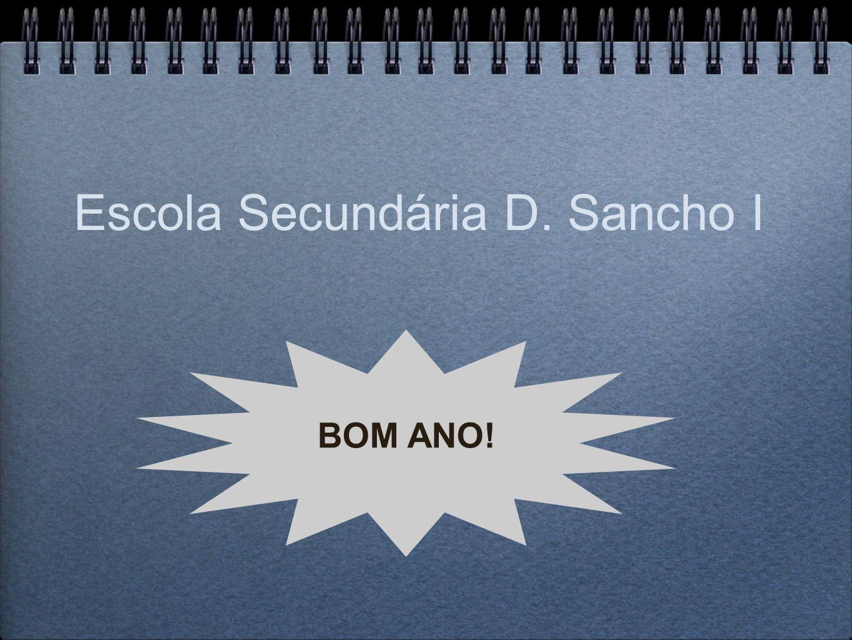 Escola Secundária D. Sancho I BOM ANO!