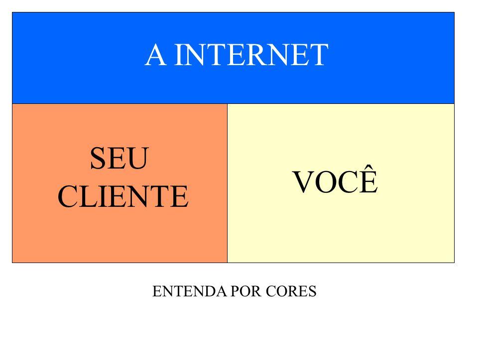 SEU CLIENTE VOCÊ A INTERNET ENTENDA POR CORES