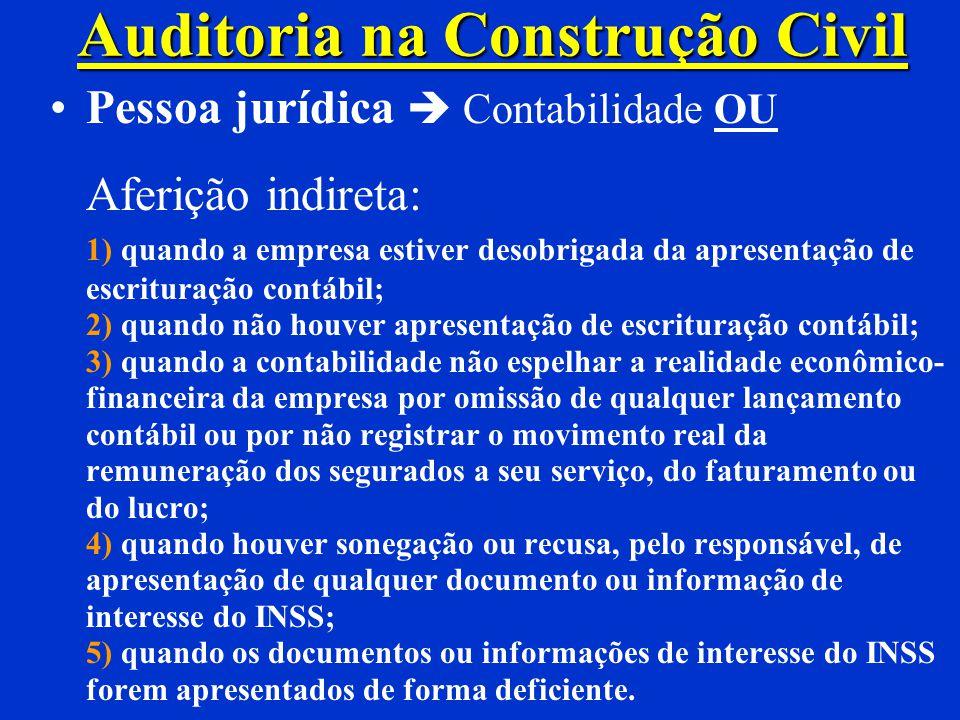 CONSTRUÇÃO INACABADA (Art. 479) Inabitável Regulariza-se % área Laudo Técnico + ART Enquadramento proporcional à área total Contribuições proporcionai