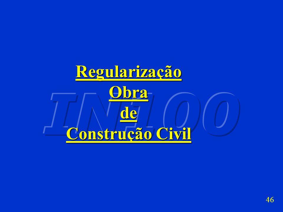 AUDITORIA NA CONSTRUÇÃO CIVIL (Art. 486 a 488) Formas de aferição: Percentuais sobre NF/fatura/recibo/contrato serviços e obra não edificada CUB obra