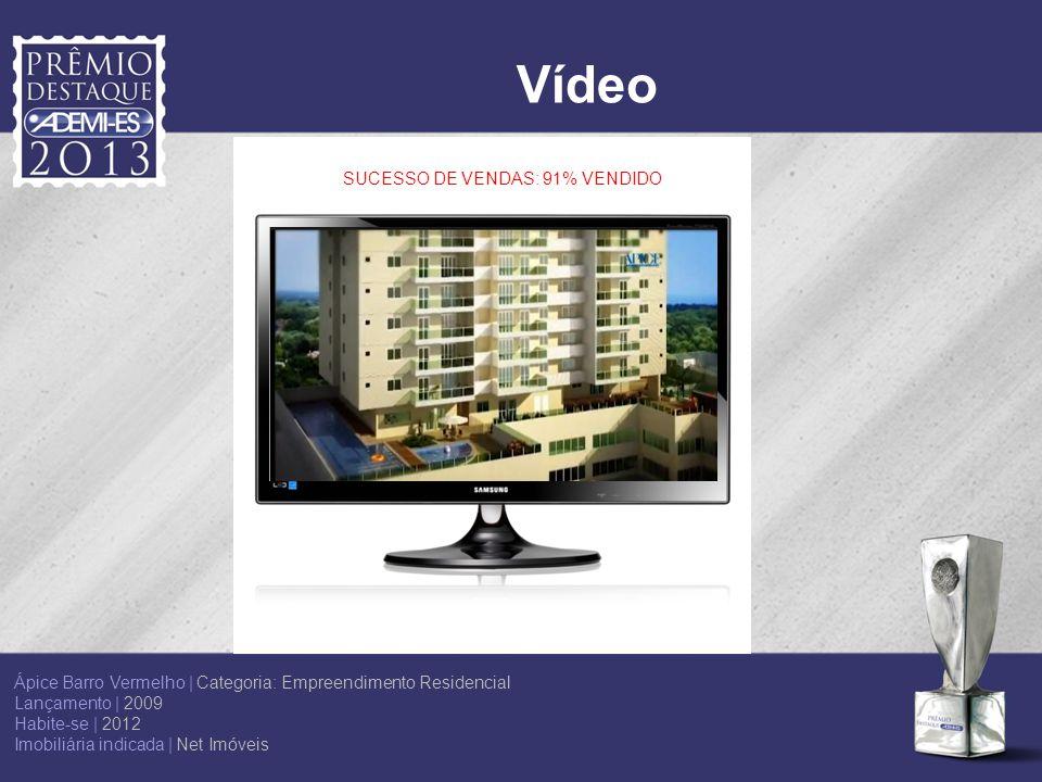 Vídeo SUCESSO DE VENDAS: 91% VENDIDO Ápice Barro Vermelho | Categoria: Empreendimento Residencial Lançamento | 2009 Habite-se | 2012 Imobiliária indic