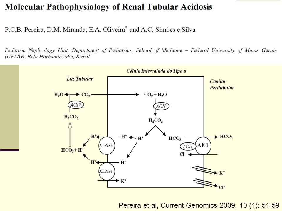 Etiologia e Genética ATR distal primária ATR distal secundária Pereira et al, Current Genomics 2009; 10 (1): 51-59