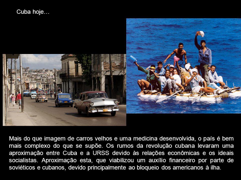 Cuba hoje… Mais do que imagem de carros velhos e uma medicina desenvolvida, o país é bem mais complexo do que se supõe. Os rumos da revolução cubana l