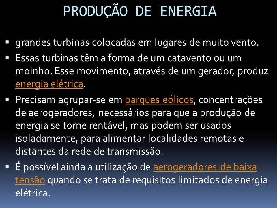Central Eólica de Prainha é o maior parque eólico do País, com capacidade de 10 MW (20 turbinas de 500 kW).