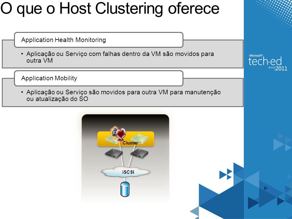 Live Migration - Memory Copy: Dirty Pages VHD Pages are being dirtied Client continues accessing VM Cliente continua acessando a VM, o que vai gerar novas mudanças na memória