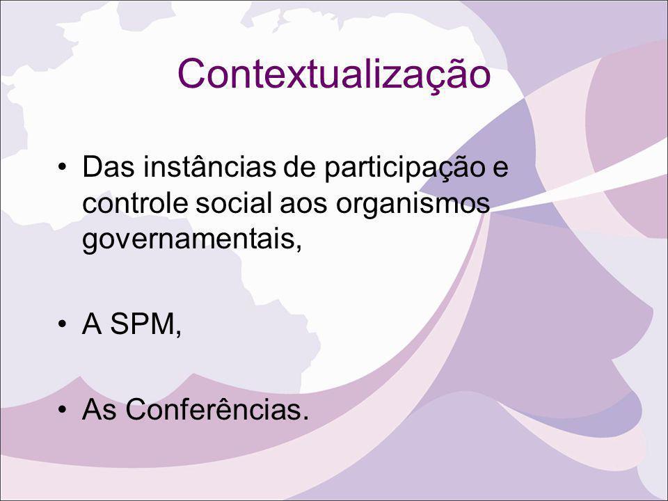 Política Nacional para as Mulheres Princípios reafrimados na II Conferência Nacional de Políticas para as Mulheres: IGUALDADE E RESPEITO À DIVERSIDADE – mulheres e homens são iguais em seus direitos.