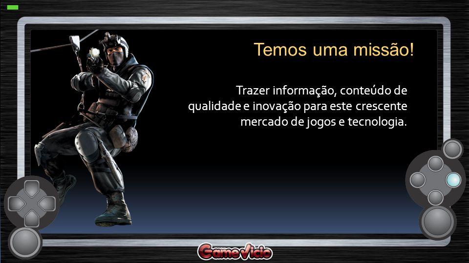Atuando desde 2003, GameVicio é hoje o maior site especializado em jogos e tecnologia do Brasil milhões de membros cadastrados Quem somos.