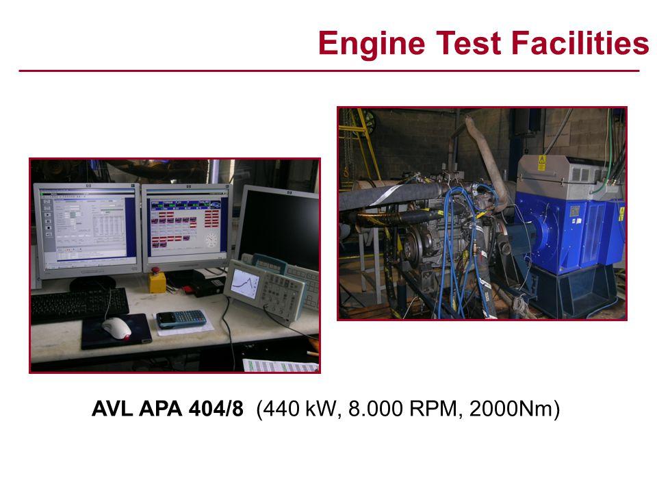Engine Test Facilities AVL APA 404/8 (AVL Puma-Open Automation System)