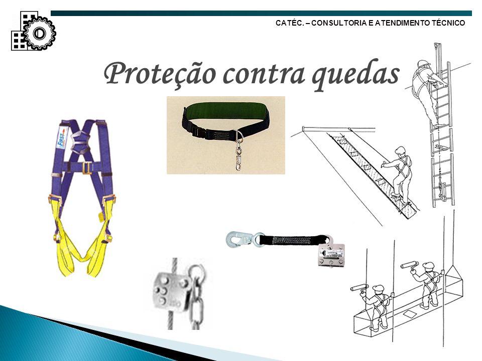 Proteção contra quedas CATÉC. – CONSULTORIA E ATENDIMENTO TÉCNICO