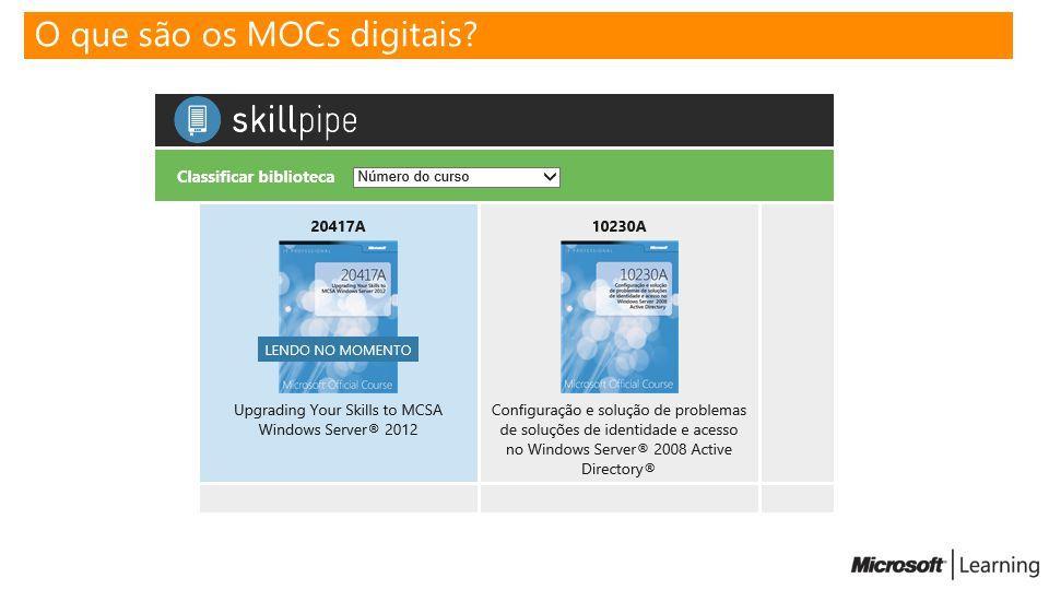 O que são os MOCs digitais?