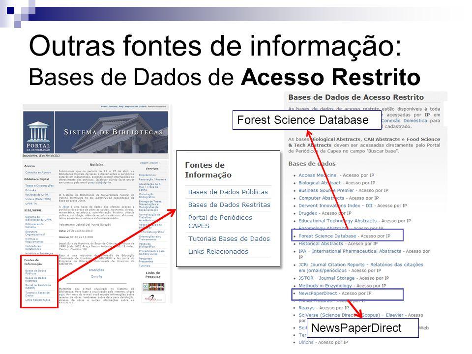 Forest Science Database NewsPaperDirect