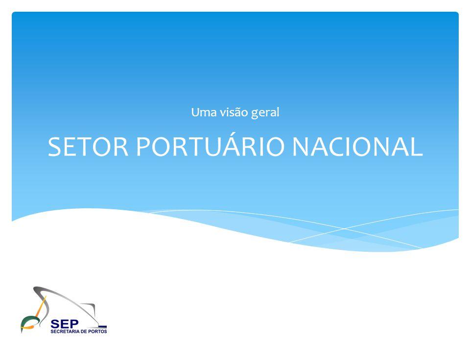 RECONHECIMENTO DA IMPORTÂNCIA DO SETOR PORTUÁRIO ANTECEDENTE HISTÓRICO RECENTE DA GESTÃO PORTUÁRIA Ministério dos Transportes DEPARTAMENTO DE PROGRAMAS DE TRANSPORTES AQUAVIÁRIOS DEPTA COORDENAÇÃO-GERAL DE PROGRAMAS CGPAQ SECRETARIA DE GESTÃO DOS PROGRAMAS DE TRANSPORTES SECRETÁRIO EXECUTIVO MINISTRO SEGES DEPTA CGPAQ PRESIDÊNCIA DA REPÚBLICA LEI Nº.