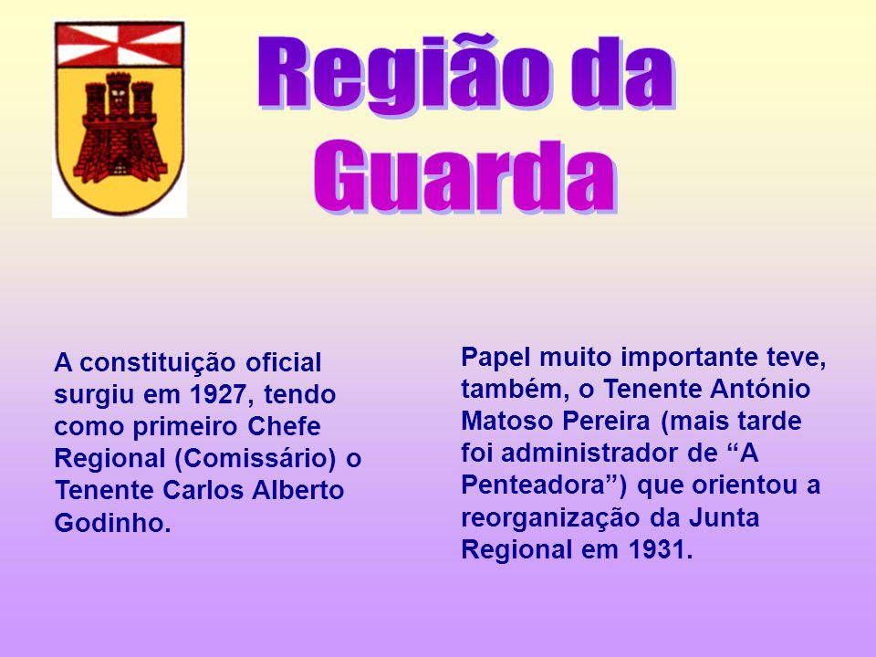 A constituição oficial surgiu em 1927, tendo como primeiro Chefe Regional (Comissário) o Tenente Carlos Alberto Godinho. Papel muito importante teve,
