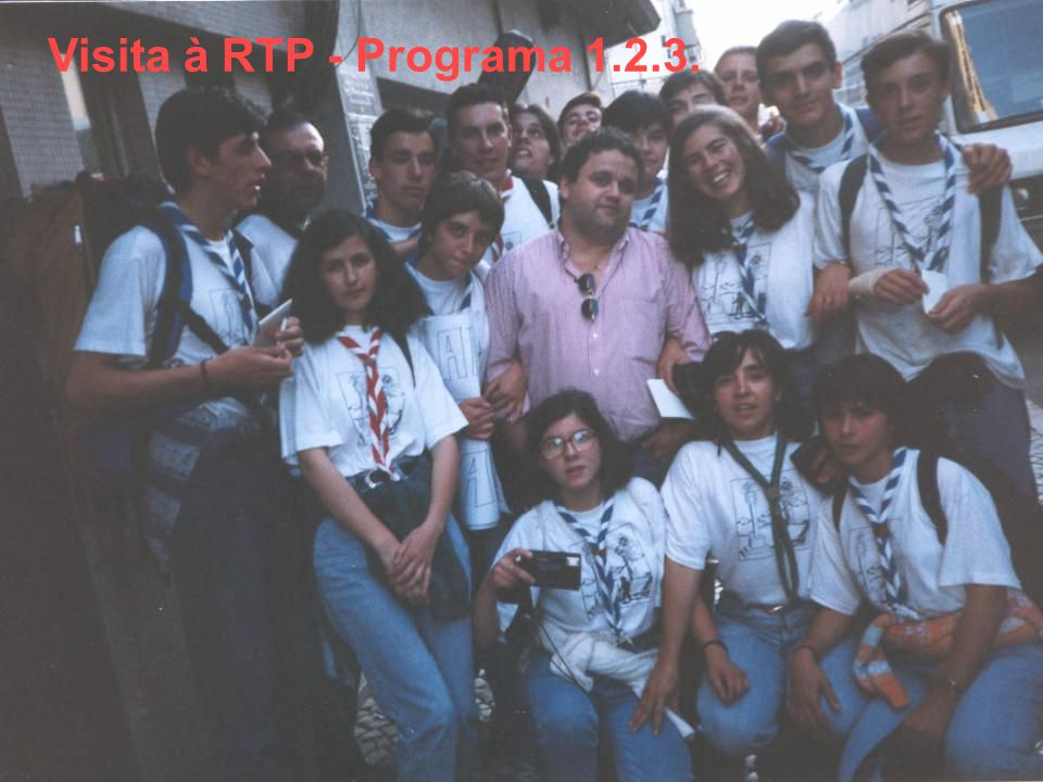 Visita à RTP - Programa 1.2.3.