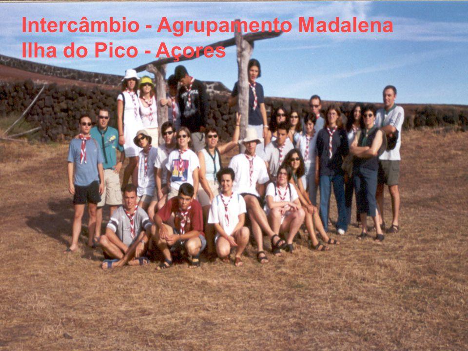 Intercâmbio - Agrupamento Madalena Ilha do Pico - Açores