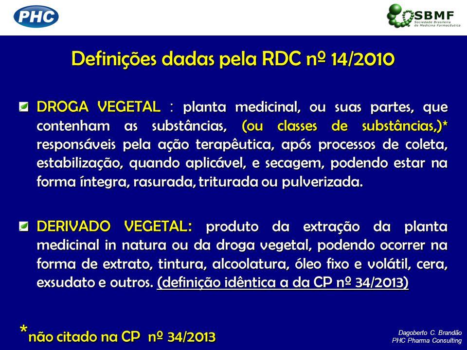 MATÉRIA-PRIMA VEGETAL : compreende a planta medicinal, a droga vegetal ou o derivado vegetal*.