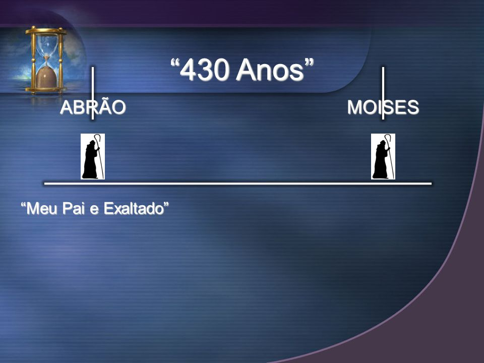 ABRÃOMOISES Meu Pai e Exaltado 430 Anos