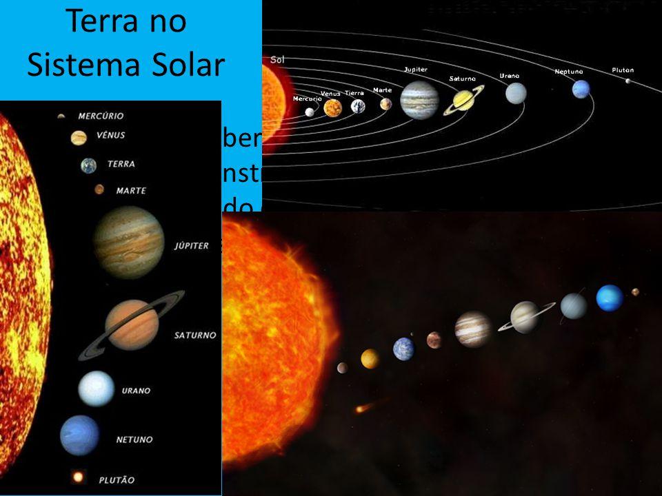 Terra no Sistema Solar Após a descoberta de novos métodos e a invenção de instrumentos tal teoria foi deixada de lado e hoje sabemos como funciona o s