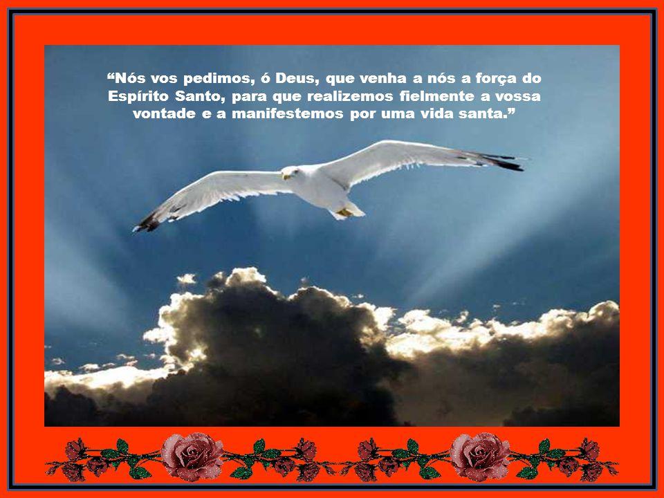 Os que participam do Espírito recebem os seus dons na medida em que o permite a disposição de cada um, mas não na medida do poder do mesmo Espírito. P