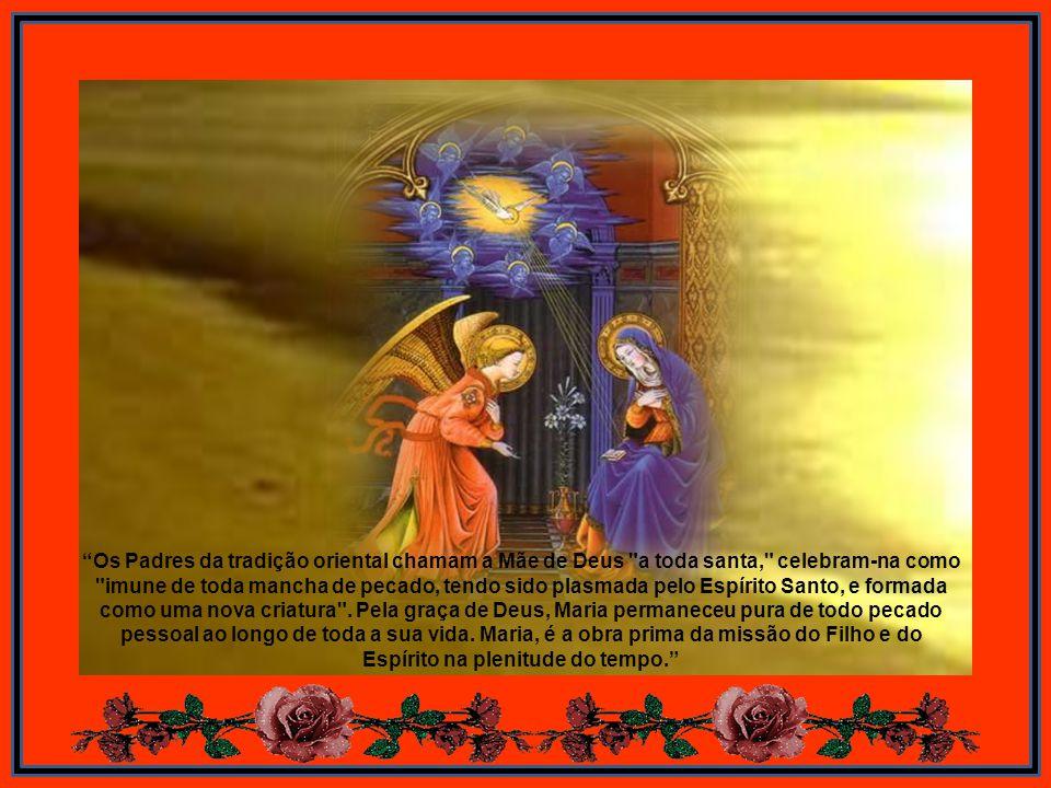 No Pentecostes, o Espírito Santo manifesta-se como fogo. A sua chama desceu sobre os discípulos reunidos, acendeu-se neles e infundiu-lhes o novo ardo