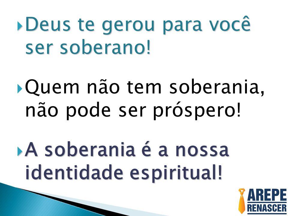PARA TER A NOSSA SOBERANIA RESGATADA, É PRECISO VENCER : PARA TER A NOSSA SOBERANIA RESGATADA, É PRECISO VENCER : 4) VENCER A SENTENÇA ATRAVÉS DO CETRO DO SENHOR (DO SEU FAVOR) – Dt 30.9 O SENHOR, teu Deus, te dará abundância em toda obra das tuas mãos, no fruto do teu ventre, no fruto dos teus animais e no fruto da tua terra e te beneficiará; porquanto o SENHOR tornará a exultar em ti, para te fazer bem, como exultou em teus pais;