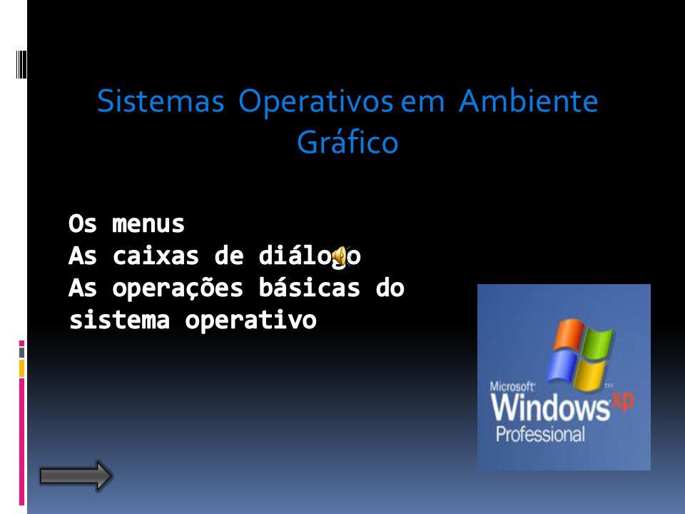 Sistemas Operativos em Ambiente Gráfico