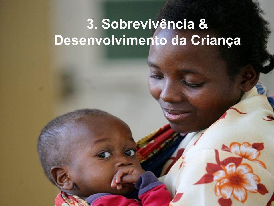 3. Sobrevivência & Desenvolvimento da Criança