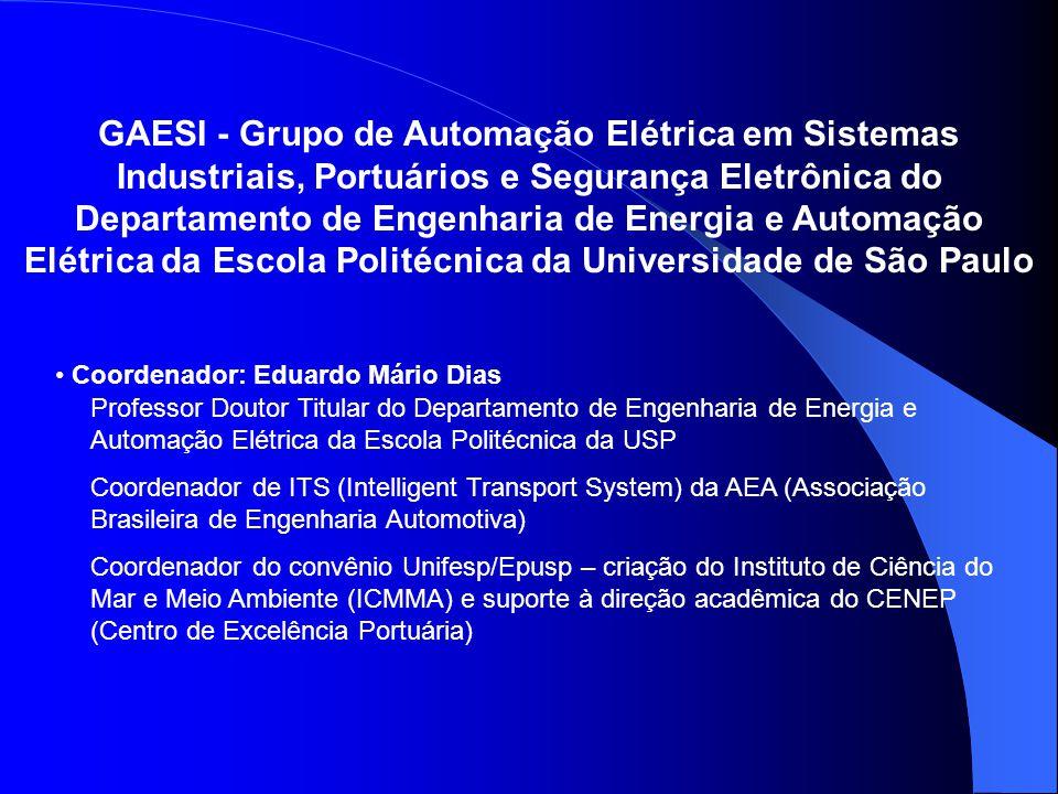 GAESI - Grupo de Automação Elétrica em Sistemas Industriais, Portuários e Segurança Eletrônica do Departamento de Engenharia de Energia e Automação El