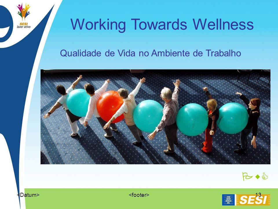 13 PwC Qualidade de Vida no Ambiente de Trabalho Working Towards Wellness