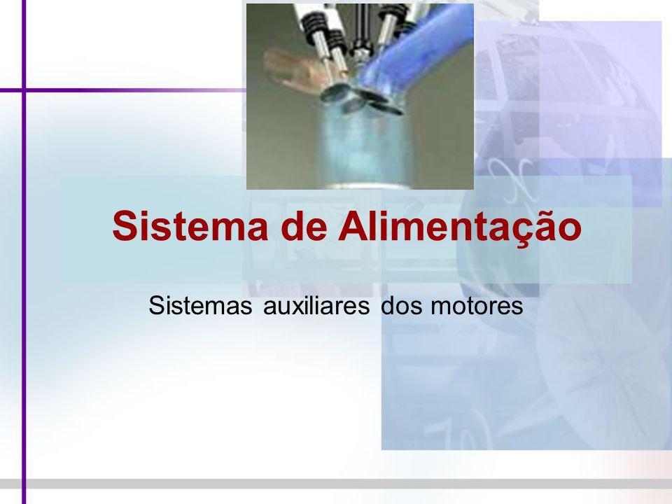 Sistema de Alimentação Sistemas auxiliares dos motores