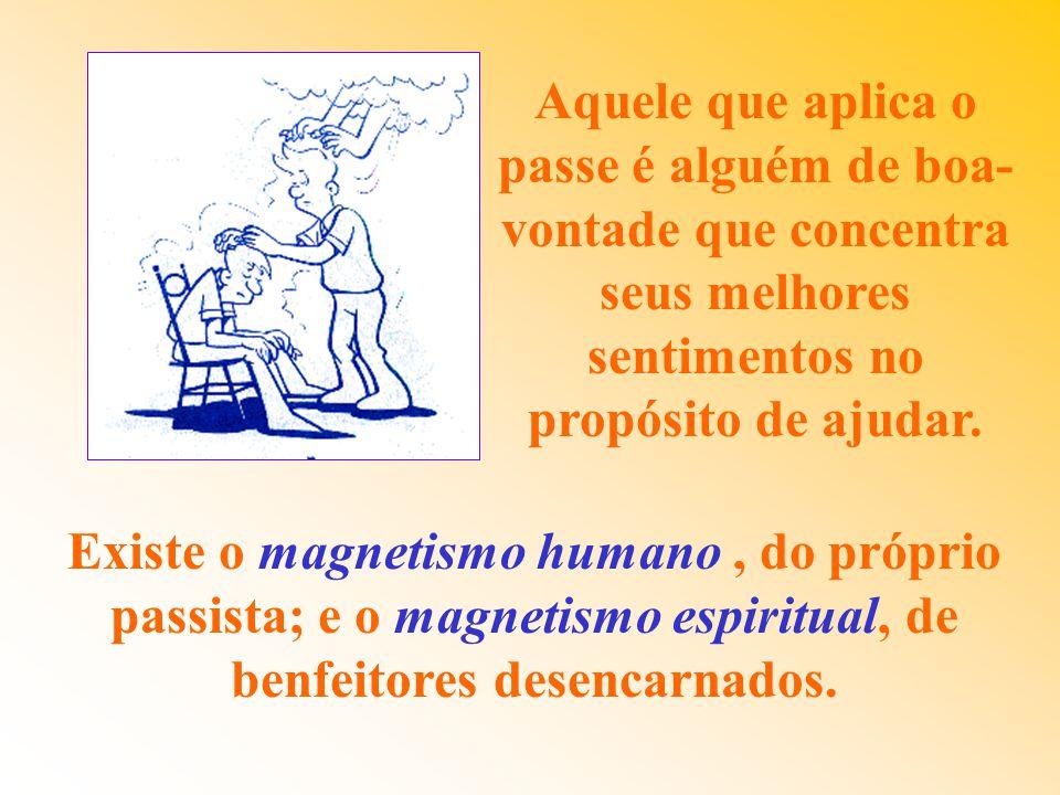 O PASSE É TRANSFUSÃO DE ENERGIAS MAGNÉTICAS. Jesus curou o cego de Jericó aplicando- lhe o passe magnético. O Espiritismo revive o mesmo tratamento, c