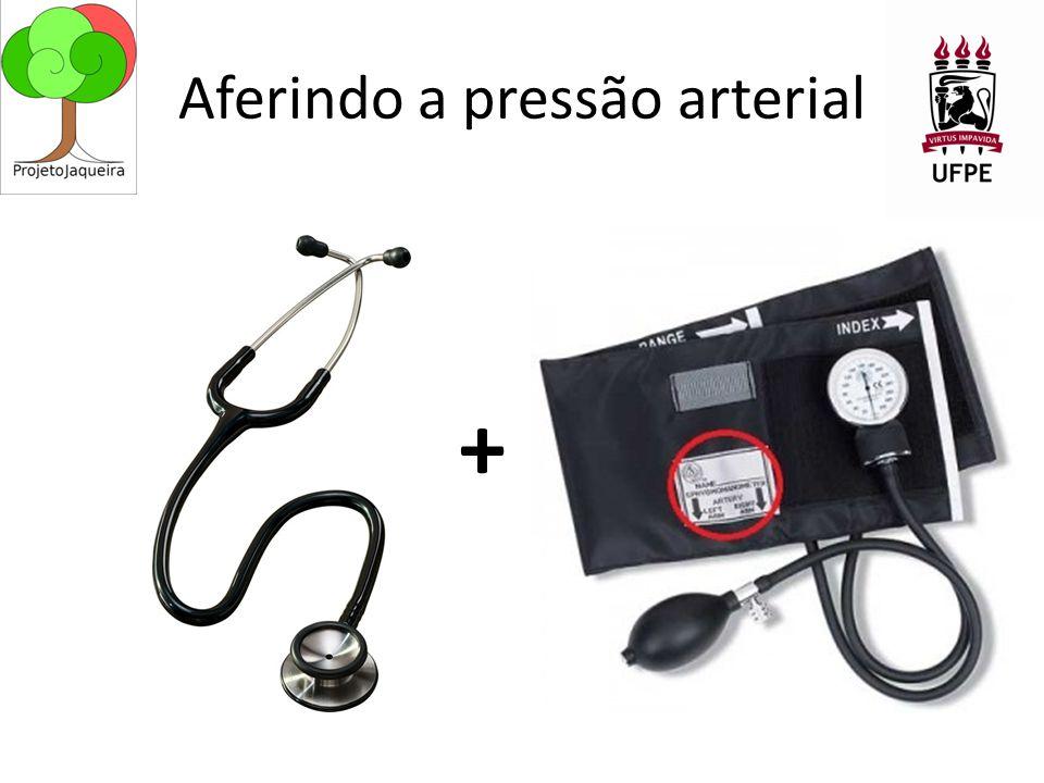 Aferindo a pressão arterial +