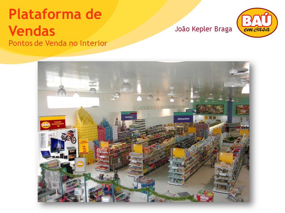 João Kepler Braga Plataforma de Vendas Pontos de Venda no Interior