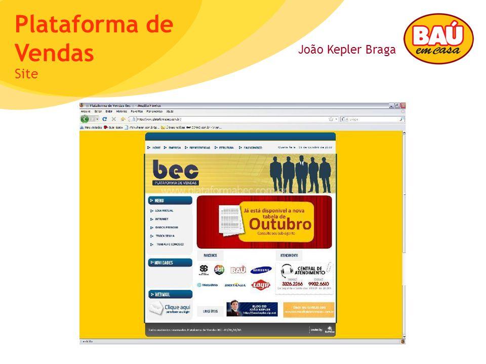 João Kepler Braga Plataforma de Vendas Site