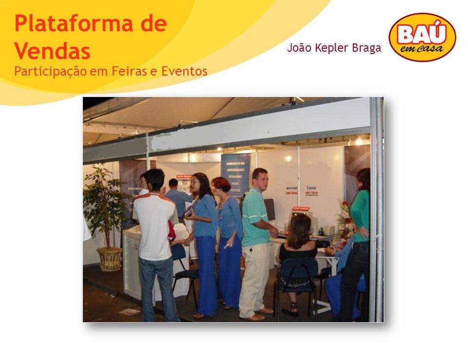 João Kepler Braga Plataforma de Vendas Participação em Feiras e Eventos