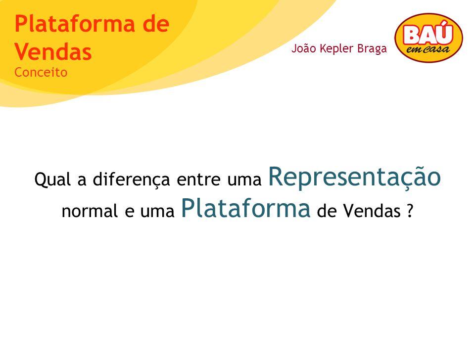 João Kepler Braga Plataforma de Vendas Qual a diferença entre uma Representação normal e uma Plataforma de Vendas .