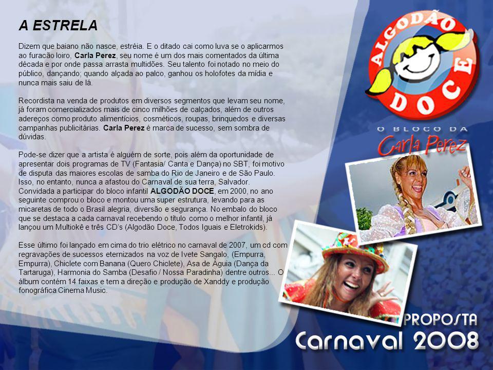 CIRCUITO: OSMAR Esse é o circuito mais tradicional do carnaval de Salvador, também chamado Avenida, fica no centro da cidade.