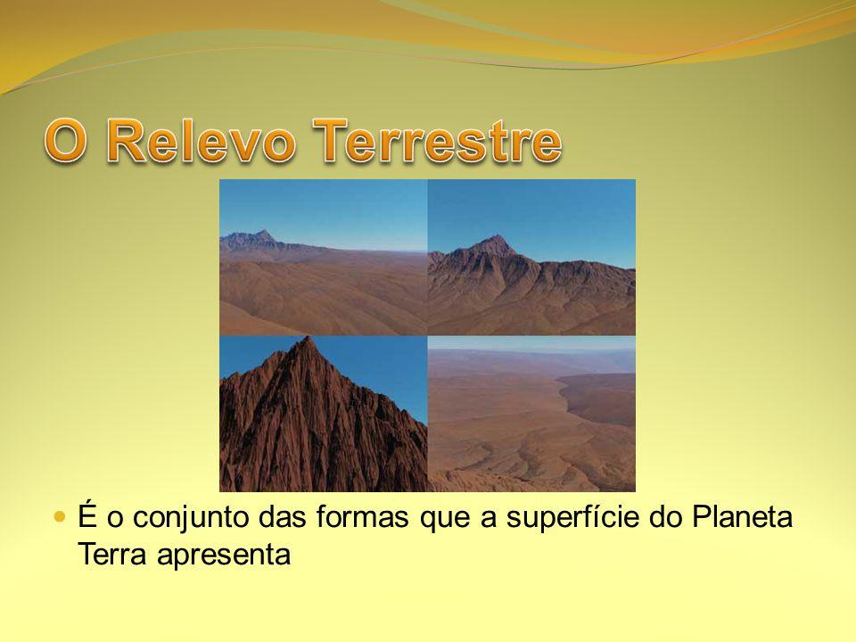 É o conjunto das formas que a superfície do Planeta Terra apresenta