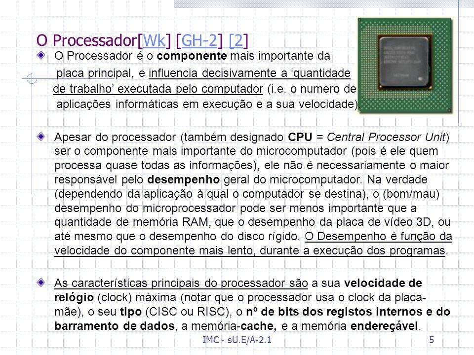 IMC - sU.E/A-2.14 A placa principal [Wk] (cont./2) - componentesWk