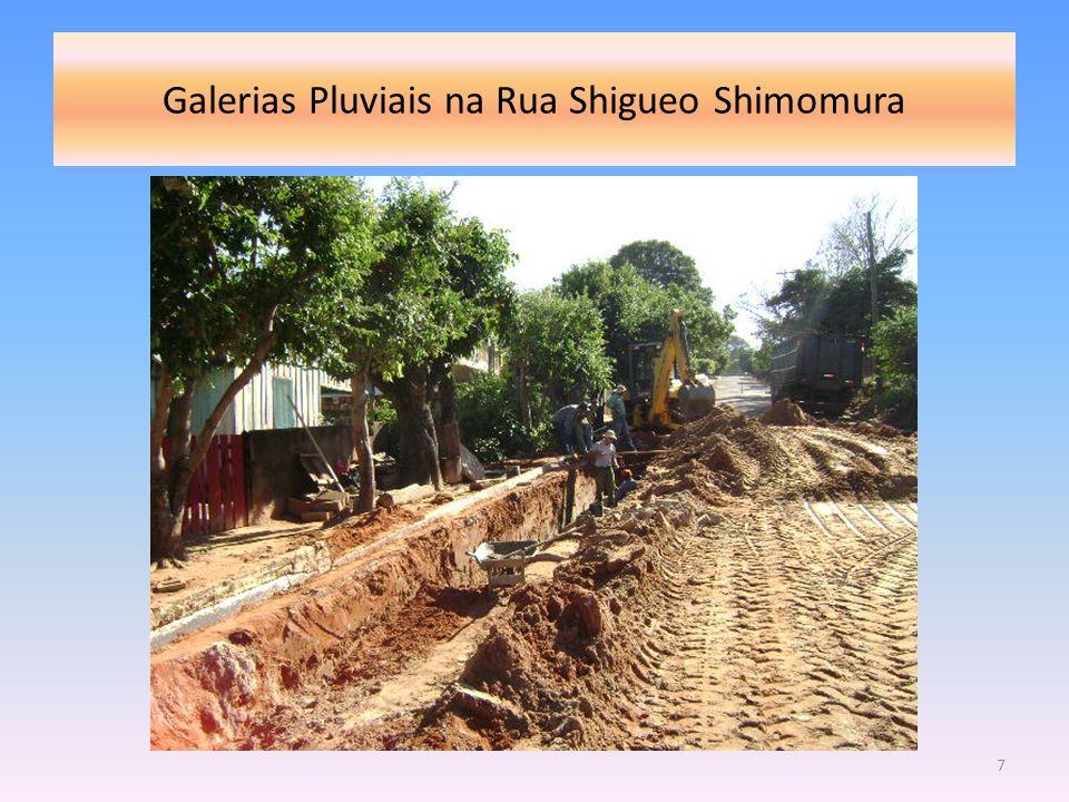Galerias Pluviais na Rua Shigueo Shimomura 7