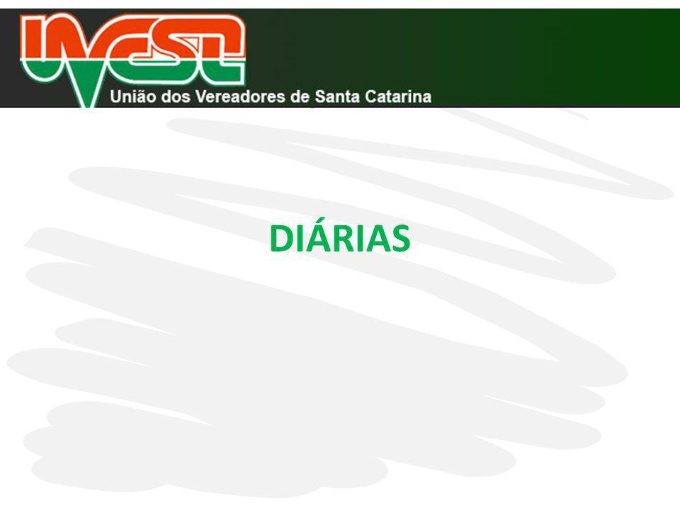 DIÁRIAS INSTRUÇÃO NORMATIVA TC 14/2012