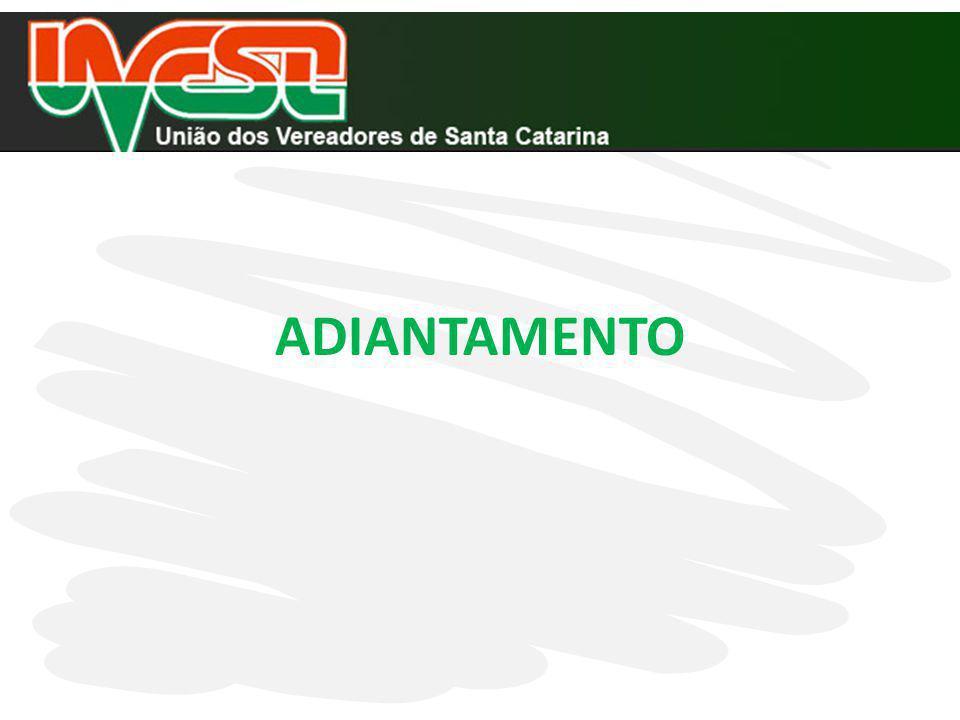 ITENS CONSIDERADOS PELO TCE/SC NA ANÁLISE DAS CONTAS MUNICIPAIS INSTRUÇÃO NORMATIVA N.