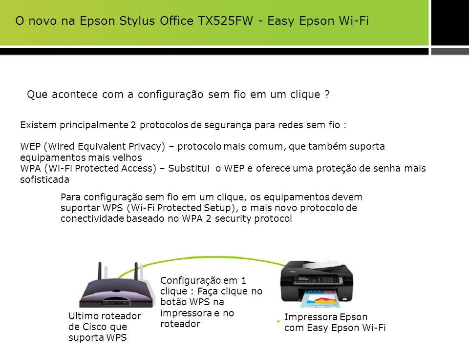Que acontece com a configuração sem fio em um clique ? Existem principalmente 2 protocolos de segurança para redes sem fio : WEP (Wired Equivalent Pri