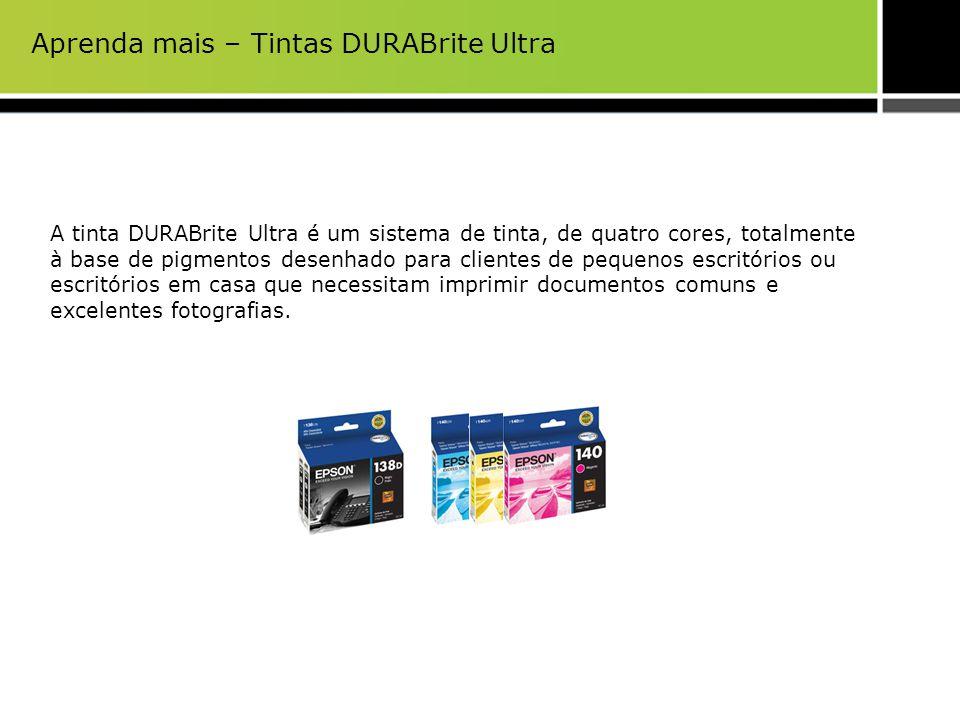 Aprenda mais – Tintas DURABrite Ultra A tinta DURABrite Ultra é um sistema de tinta, de quatro cores, totalmente à base de pigmentos desenhado para cl